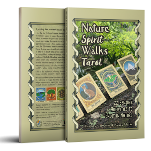 Nature Spirit Walks Tarot Book Mockup